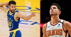 Stephen Curry And Devin Booker