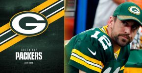 Aaron Rodgers Upset Green Bay Packers Background
