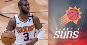 Chris Paul Phoenix Suns Background