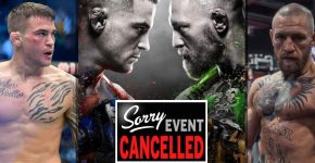 Dustin Poirier And Conor McGregor Fight Trilogy Canceled