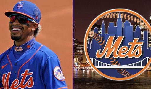 Francisco Lindor With Mets Background (1)