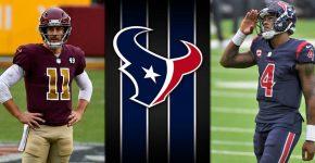 Alex Smith And Deshaun Watson With Texans Background
