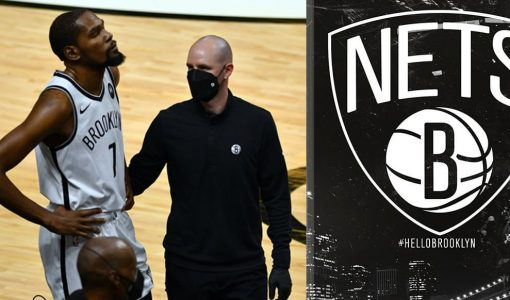 Kevin Durant Injury With Brooklyn Nets Background