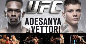 UFC Adesanya Vs Vettori 2