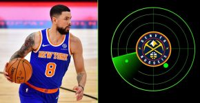 Austin Rivers With Denver Nuggets Radar