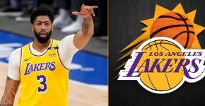 Anthony Davis Suns Lakers