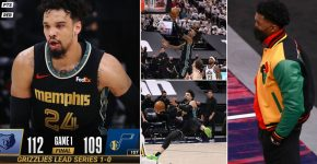 Donovan Mitchell Upset Grizzlies Vs Jazz Game 1
