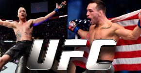 Michael Chandler And Justin Gaethje UFC