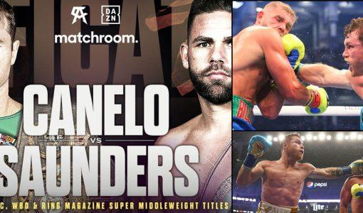 Canelo Alvarez Vs Billy Joe Saunders Boxing