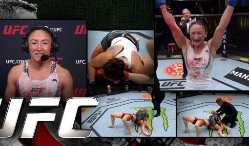 UFC Carla Esparza Second Round Tko