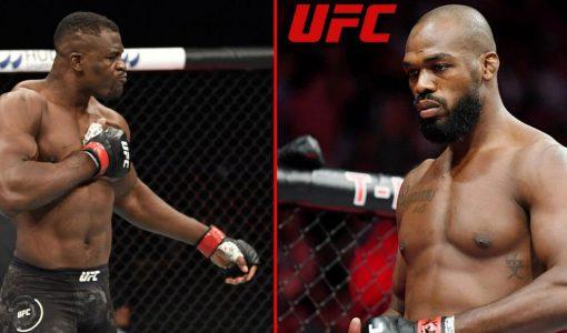 Francis Ngannou Jon Jones UFC