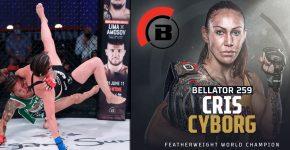 Cris Cyborg Bellator MMA Featherweight World Champion