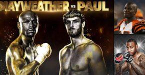 Mayweather Vs Paul With Chad Johnson Vs Brian Maxwell