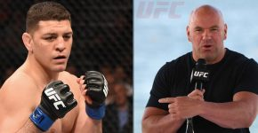 UFC Dana White Nick Diaz