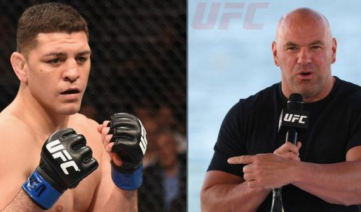 UFC Dana White Nick Diaz