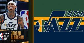 Jordan Clarkson Utah Jazz Background
