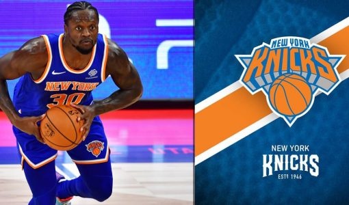 Julius Randle With NY Knicks Background