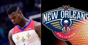 Zion Williamson Injury With Pelicans Background