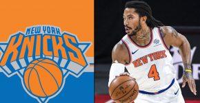 Derrick Rose New York Knicks Background