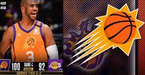 Chris Paul Suns Vs Lakers Background