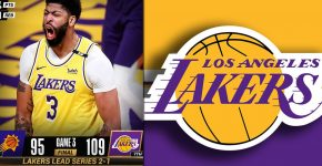 Anthony Davis And Lakers Background