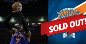 NY Knicks Sold Out Games