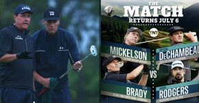Tom Brady And Phil Mickelson And The Match Vs DeChambeu and Rodgers