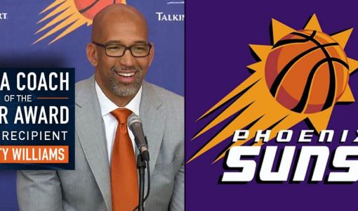 Monty Williams Phoenix Suns Background NBCA Coach