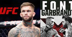 Cody Garbrandt UFC Logo Rob Font