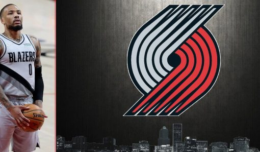 Damian Lillard Blazers Background