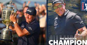 Phil Mickelson PGA Champion