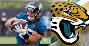Tebow With Jaguars Background