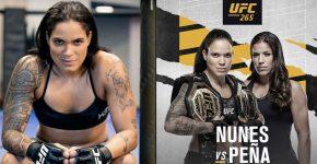 Amanda Nunes Vs Pena UFC 265