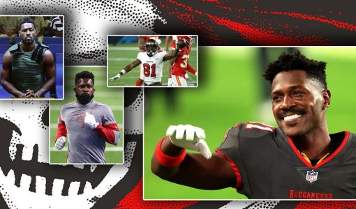 Antonio Brown Tampa Bay Buccaneers Court Appearance