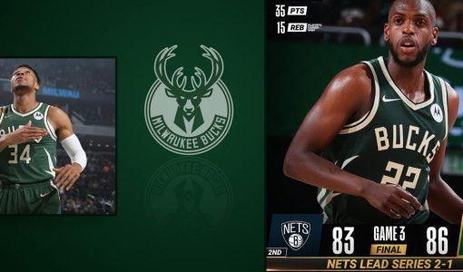 Bucks Vs Nets Lead Series Background