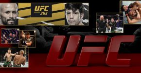 UFC 263 Brandon Moreno Vs Figueiredo
