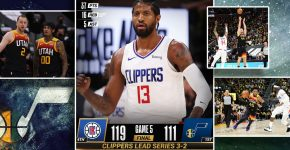 Clippers Vs Jazz With 3 to 2 Clippers Series Lead