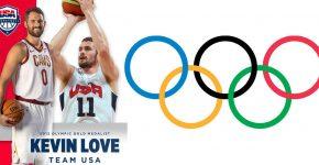 Kevin Love Team USA Basketball Olympics