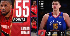 Nuggets Vs Portland With Damian Leonard (1)