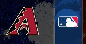 Arizona Diamondbacks Logo With MLB Background