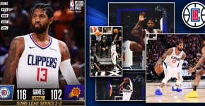 Clippers At Suns Series 3 2 Clippers Background