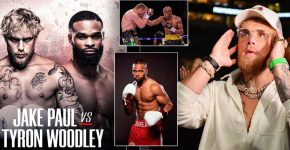 Jake Paul Vs Woodley With Anderson Silva And Roy Jones