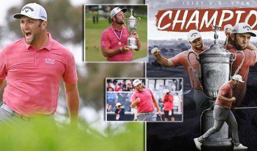 Jon Rahm US Open Victory