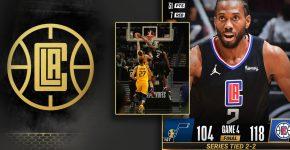 Kawhi Leonard Game 4 Clippers Vs Jazz