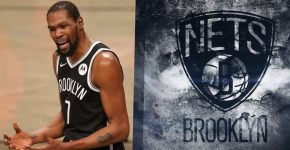 Kevin Durant Brooklyn Nets Background