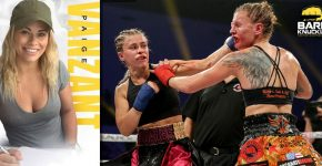Paige Vanzant Bare Knuckle Fight Championship First Fight
