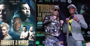 Julio Cesar Chavez Jr And Anderson Silva Tribute To The Kings