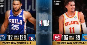 76ers And Hawks Advance Playoffs