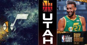 Rudy Gobert Utah Jazz Background