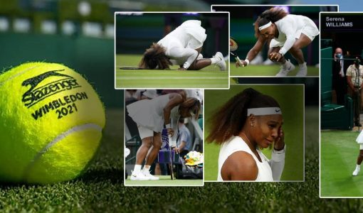 Serena Williams Ankle Injury Withdraws From Wimbledon